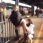 Nyilvános szex Budapest MÁV állomáson