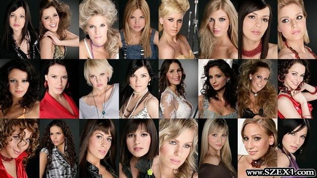 Szépségkirálynő jelöltek és modelligazolvány képek