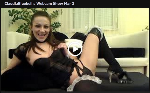 claudia-bluebell-webcam-show